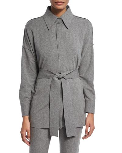 NK Box Shirt, Medium Heather Gray