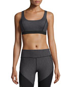 Dotty Guru Sports Bra, Black