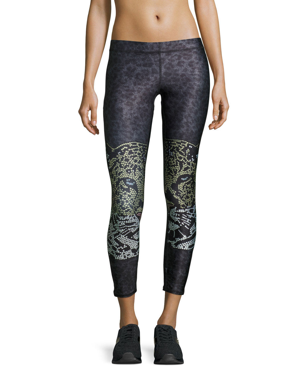Crystal Leopard Performance Leggings