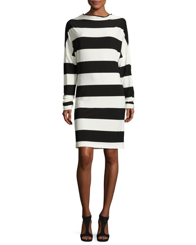 All-in-One Striped Dress