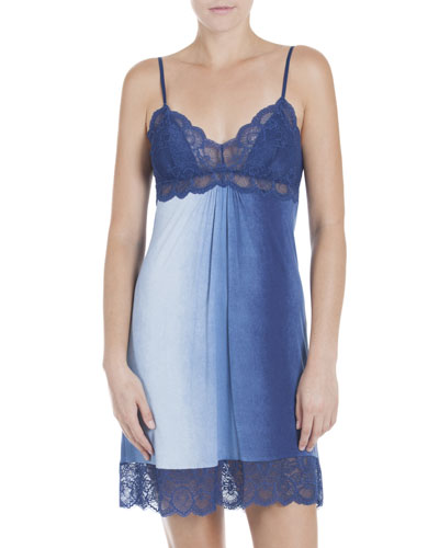 Stormy Skies Jersey Chemise, Blue