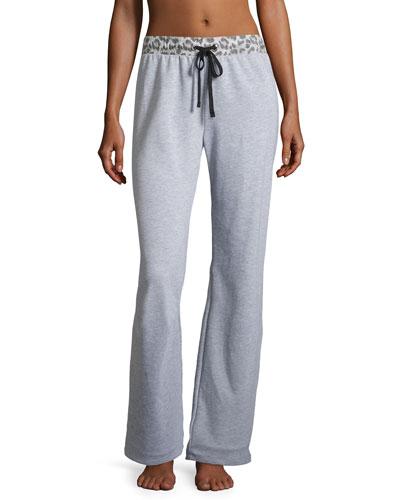 Sterling Knit Lounge Pants, Heather Gray