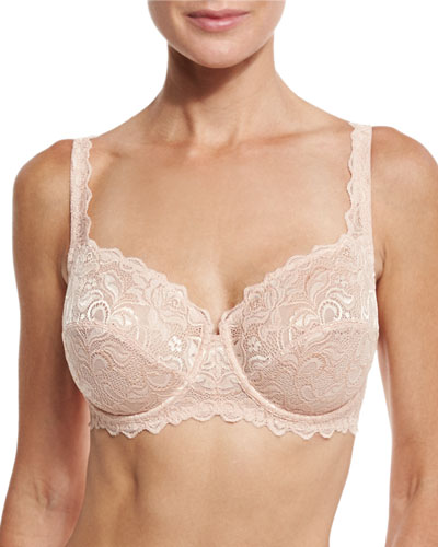 Egletine Classic Underwire Bra, Honey Beige