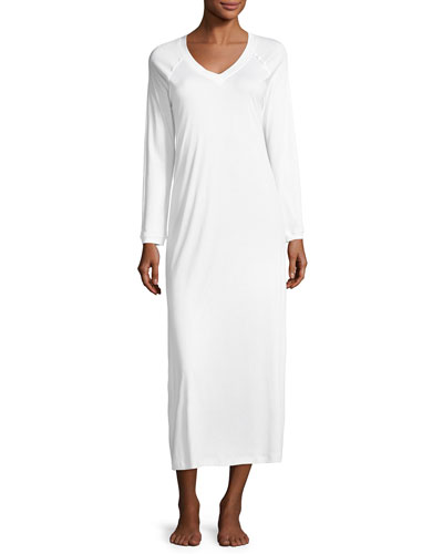 Pure Essence Long-Sleeve Gown