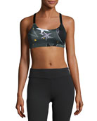 Lux Triple Strap Sports Bra, Winter Solstice