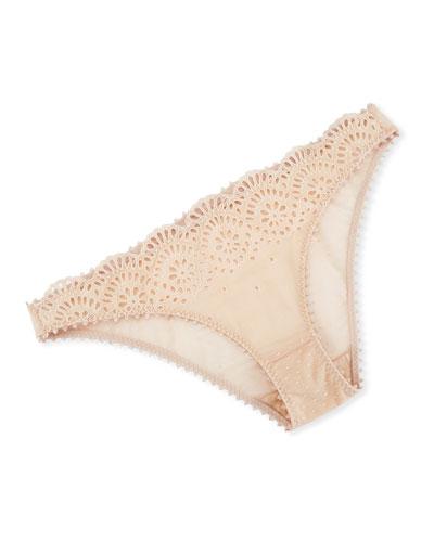 Rachel Shopping Lace Bikini Briefs, Bikini Pink