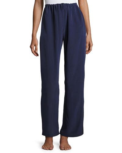 a81d67eccc7 Quick Look. Christine Designs · Opal Drawstring Silk Lounge Pants ...