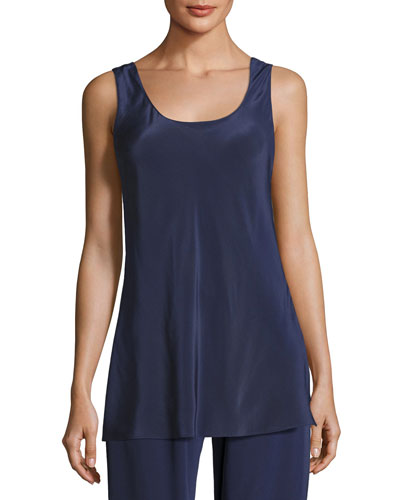 Opal Silk Camisole Top