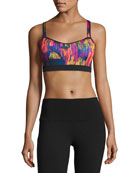 Uprise Cross-Back Sports Bra (A/B), Multicolor