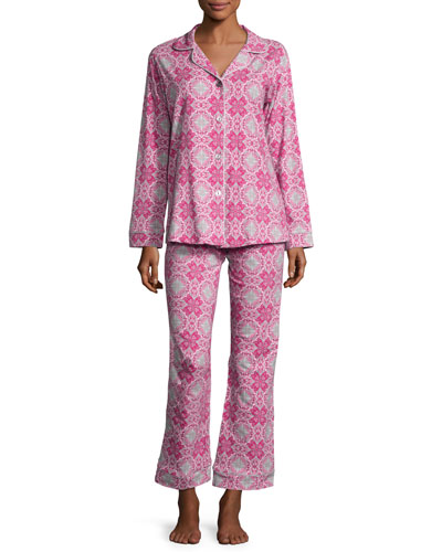 Paisley Love Long-Sleeve Classic Pajama Set