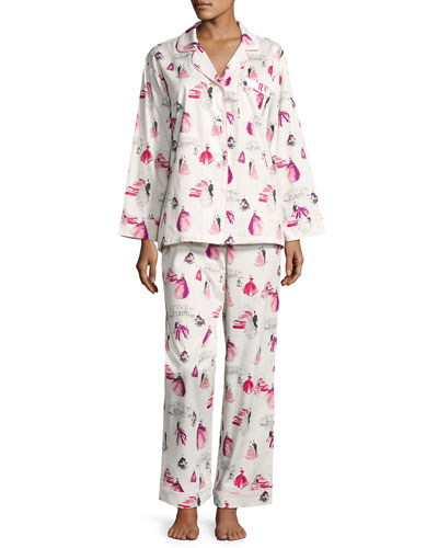 MET Gala Long-Sleeve Pajama Set
