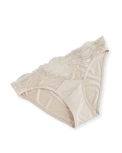 Greta Brazilian Panties, Beige