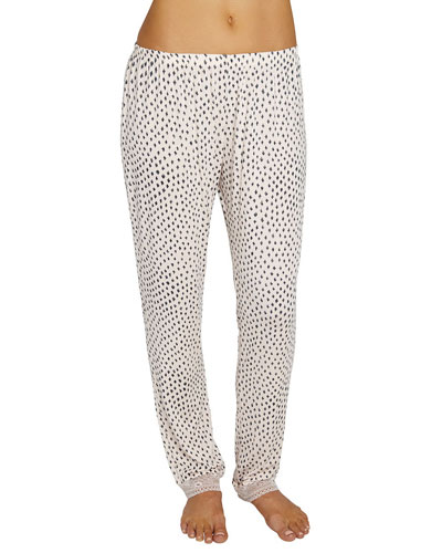 Sketchy Spots Slim Lounge Pants