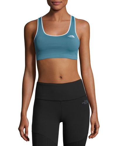 The North Face Bounce - B - Gone Sports Bra, Turquoise