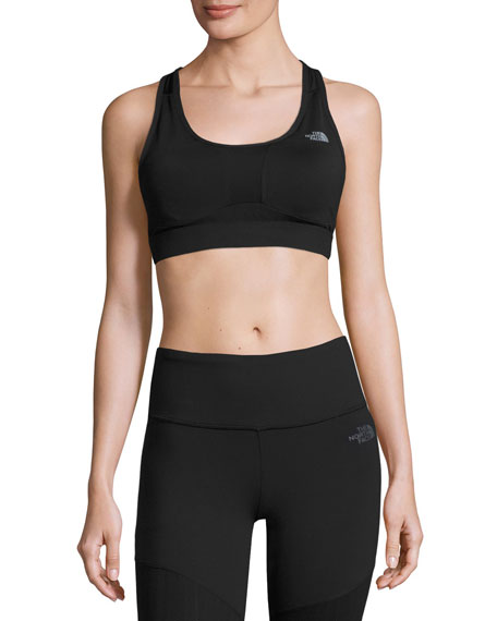 The North Face Stow-N-Go IV Sports Bra for C-D Cups, Black