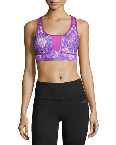 The North Face Stow - N - Go Sports Bra, Purple, C - D Cup