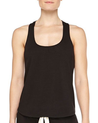 Heather Slub Racerback Lounge Tank