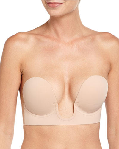 9adb71888a Quick Look. Fashion Forms · U-Plunge Backless Strapless Adhesive Bra.  Available in Nude