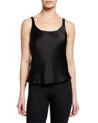Silk Camisole, Black