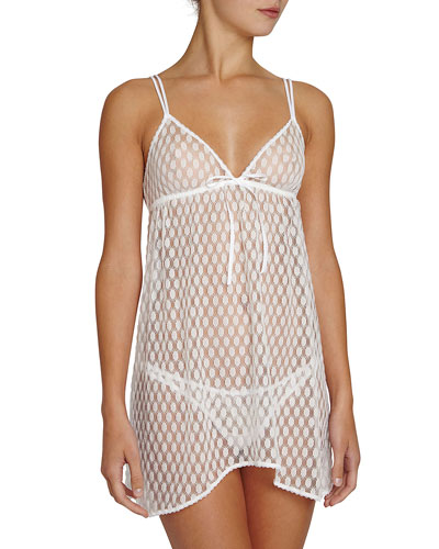 Love Always Lace Chemise, Ivory