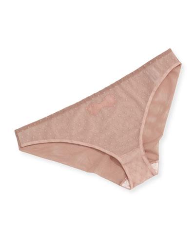 Noeuds et Merveilles Veil Bikini Briefs
