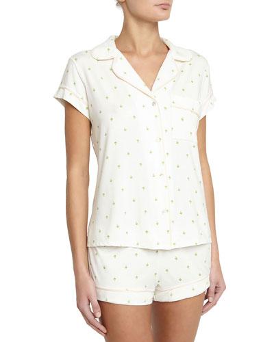 196cbd3dbb3 Quick Look. Eberjey · Giving Palm Short Pajama Set