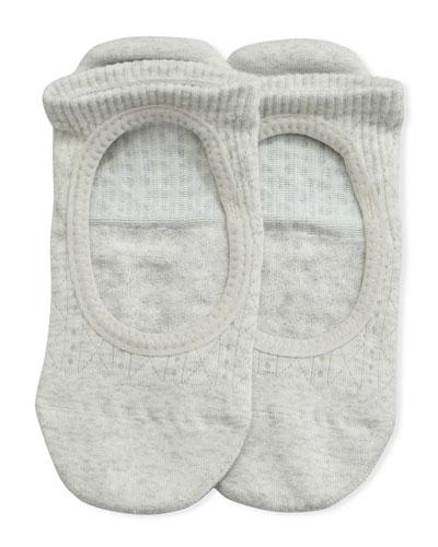 Grip Chey Tavi Smoke Athletic Socks, Light Gray