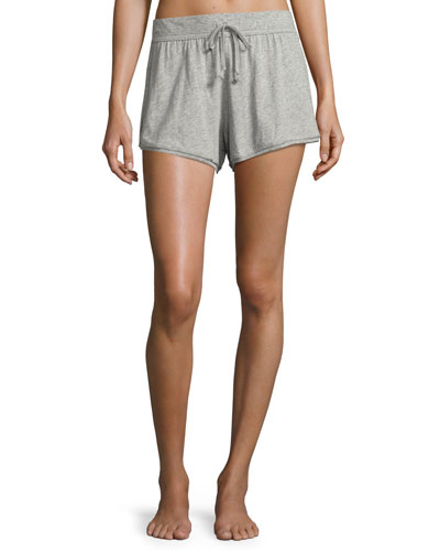 Cotton-Jersey Lounge Shorts