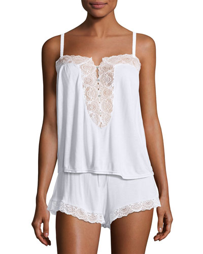 I Do Lace-Inset Lounge Camisole