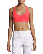 Armour® Eclipse Scoop-Neck Strappy Sports Bra