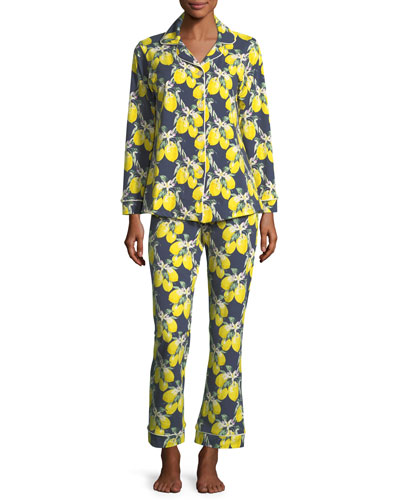 Let's Make Lemonade Long-Sleeve Pajama Set