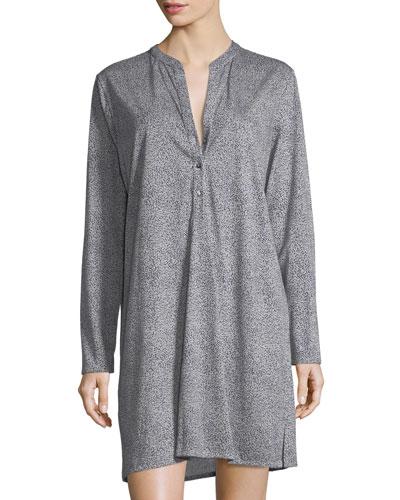 Sleep & Lounge Long-Sleeve Nightgown