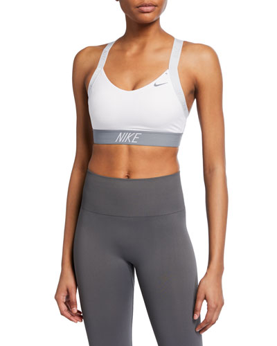 Indy Logo Light Support Performance Sports Bra