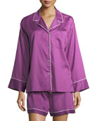 Sateen Essentials Short Pajama Set
