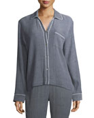 Delaney Long Sleeve PJ Top