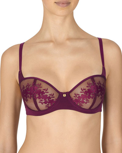 Eternal Underwire Embroidered Bra