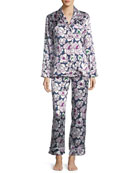 Lila Roxanne Long Silk Pajama Set
