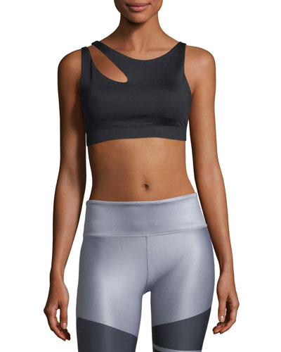 Peak Slashed Low-Impact Sports Bra
