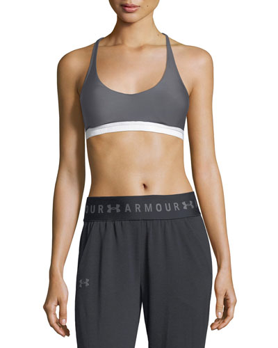 Under Armour Armour® Eclipse Scoop - Neck Strappy Sports Bra