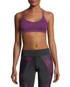 Training Yogini Lux Strappy Graphic Sports Bra