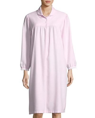 Helena Long-Sleeve Nightgown
