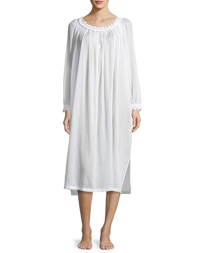 Danielle Long-Sleeve Nightgown