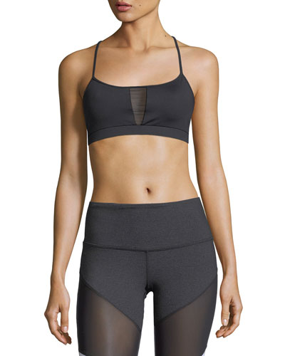 Alicia Crisscross Strappy Performance Sports Bra
