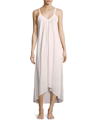 Phedora Sleeveless Cotton Nightgown