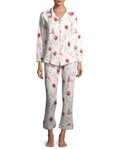Eau de Parfum Long-Sleeve Pajama Set