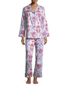 Chloe Long-Sleeve Pajama Set