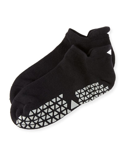 Savvy Slipper Grip Socks, Tavi Ebony