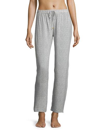 Hanro Lara Lounge Pants, Multi Pattern