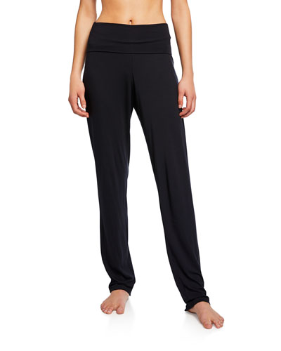 Yoga Fold Over-Waist Pants
