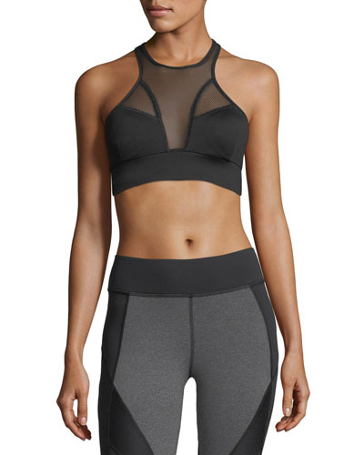 a19465951bc1b Quick Look. Michi · Avalon Mesh Sports Bra. Available in Black
